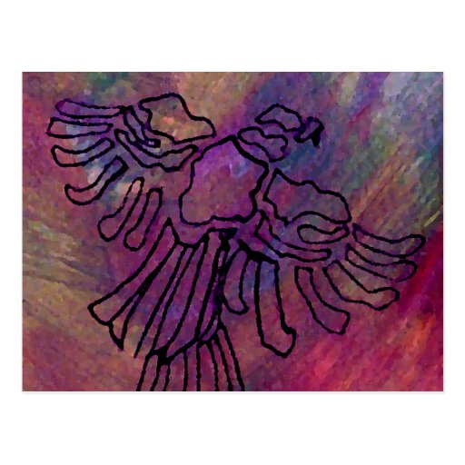 Wild Bird Ribbon Series CricketDiane Art & Design Postcard