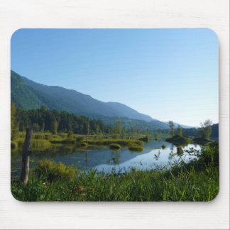 Wild Bird Sanctuary - Marshy Landscape Photograph Mousepads