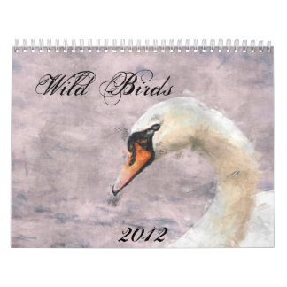 Wild Birds 2012 Calendar