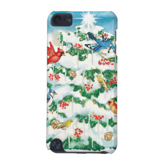 Wild Birds in Nature with Starlit Christmas Tree iPod Touch 5G Cases