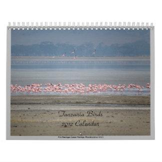 Wild Birds of Tanzania Calendar