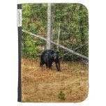 Wild Black Bear & Yukon Forest Photo Art Kindle 3 Covers