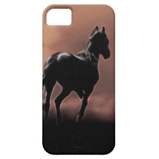 Wild black beauty horses iPhone 5 cover