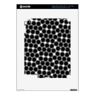 Wild Black Dots iPad 3 Skins