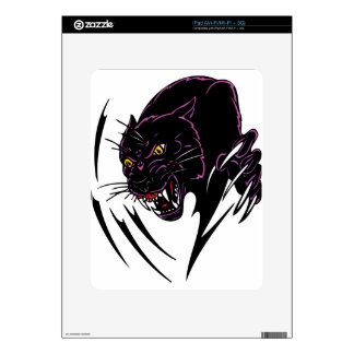 Panther skins panther decals panther iphone skins more for Black panther mural