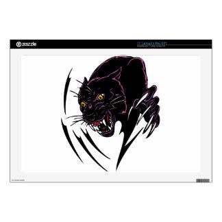 Wild Black Panther Laptop Decal