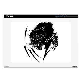 Wild Black Panther Laptop Skin