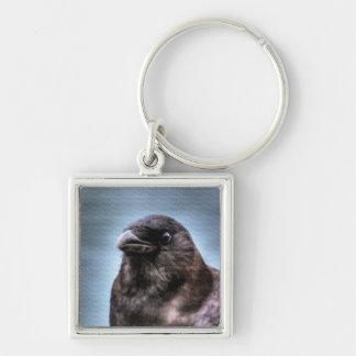 Wild Black Raven Crow-lovers #Gift Keychain