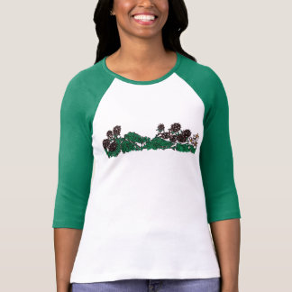 Wild blackberry strip (no caption). T-Shirt