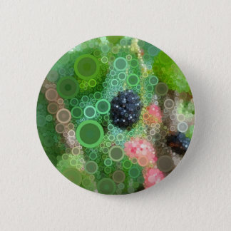 Wild Blackberry Summer Products Pinback Button