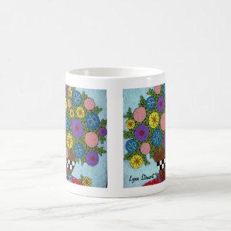 Wild Blossom Vase Coffee Mug