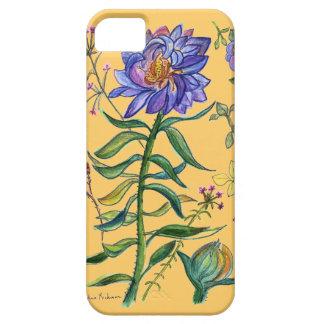 Wild Blue Bouquet IPhone case