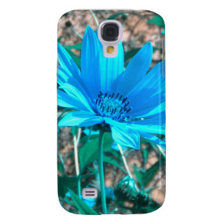 Wild Blue Sunflower iPhone3 Case