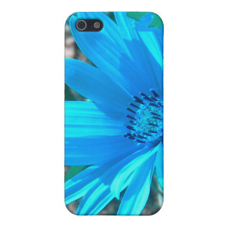 Wild Blue Sunflower iPhone SE/5/5s Case