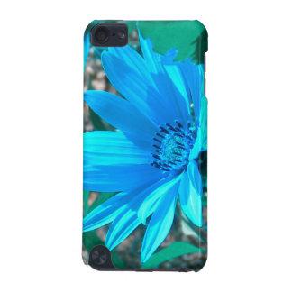 Wild Blue Sunflower iPod Touch Case