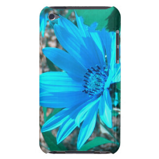 Wild Blue Sunflower iPod Touch Case