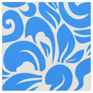 Wild Blue Yonder Floral Fabric