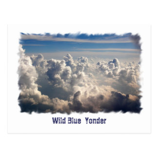 Wild Blue  Yonder Postcard