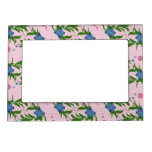 Wild Blueberries and Bubbles picture frame Magnetic Frame