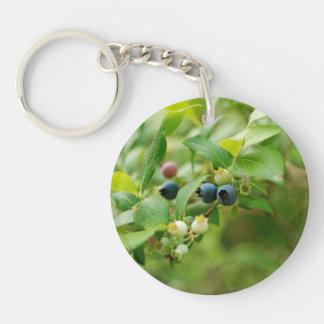 Wild Blueberries Keychain
