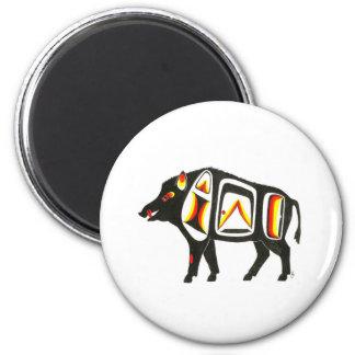 Wild boar 001 magnet