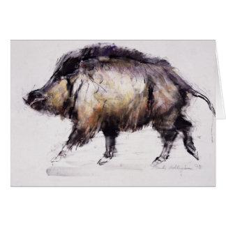 Wild Boar 1999 Card