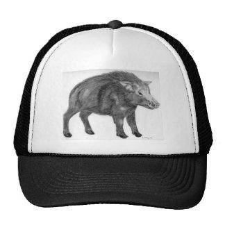 Wild Boar, Defensive Stance Trucker Hats
