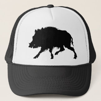 Wild Boar From Antique German Engraving Trucker Hat