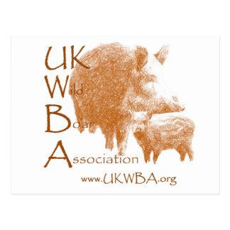 Wild Boar Logo Postcards