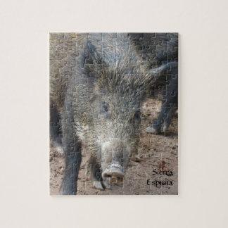 Wild Boar Sierra Espuna Puzzles