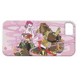 goddess buddhist fortune trike 弁天 トライク wild boar イノシシ smoke 煙 pink ピンク 紫 purple kimono 着物 bikini ビキニ ブーツ 和風 イラスト pop ポップ