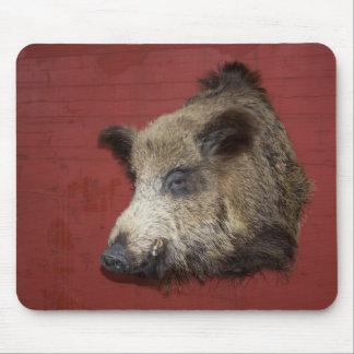 Wild Boar Trophy Mouse Pad