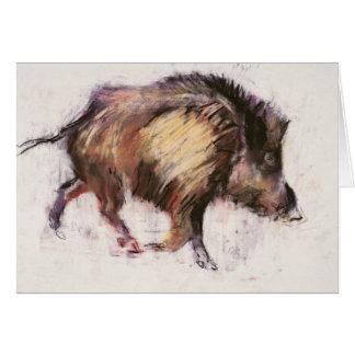 Wild Boar Trotting 1999 Card