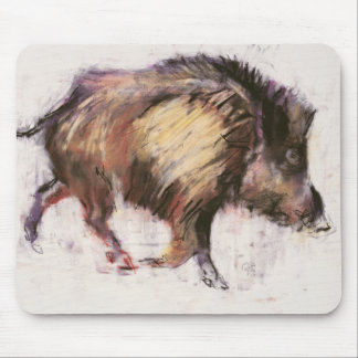 Wild Boar Trotting 1999 Mouse Pad