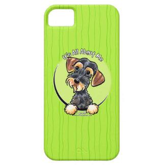 Wild Boar Wirehaired Dachshund IAAM iPhone SE/5/5s Case