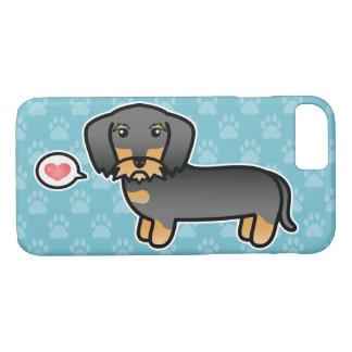 Wild Boar Wirehaired Dachshund Love iPhone 8/7 Case
