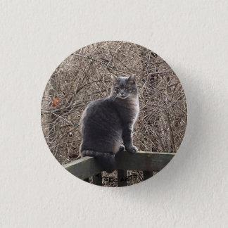 """""""Wild Boy Kitty"""" Button"""