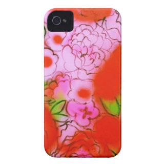Wild Bright Flowers Painted Iphone Case iPhone 4 Covers