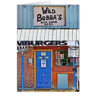 Wild Bubba's in Elroy, TX Card
