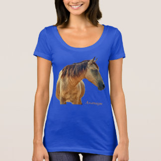 Wild buckskin of Assateague t-shirt