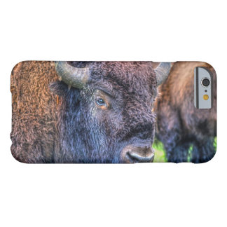 Wild Buffalo and Badlands Bison-Lover Bovine Art Barely There iPhone 6 Case