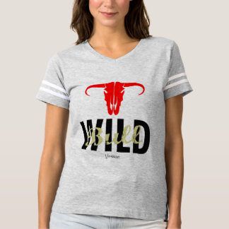 Wild Bull by VIMAGO T-shirt