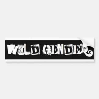 Wild Bumper Car Bumper Sticker