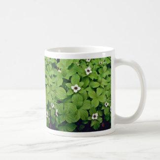Wild Bunchberry flowers Coffee Mug