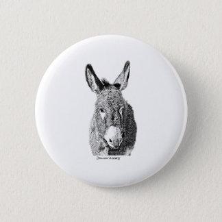 Wild Burro Button