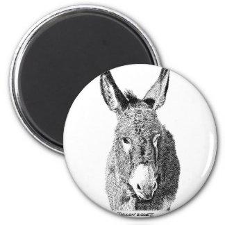 Wild Burro 2 Inch Round Magnet