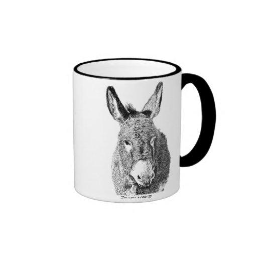 Wild Burro Ringer Coffee Mug