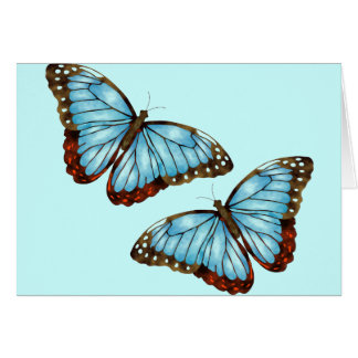 Wild Butterflies Card