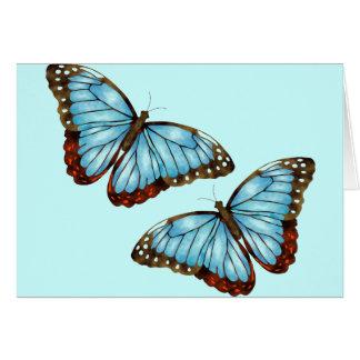 Wild Butterflies Greeting Card