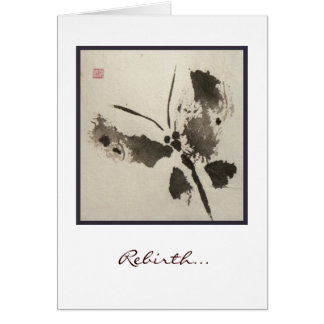 Wild Butterfly (rebirth) Card